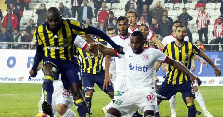 Fenerbahçe ile Antalyaspor 42. randevuda