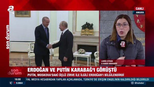 Son dakika: Putin'den Başkan Erdoğan'a Karabağ telefonu!