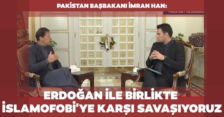 Son dakika haberi: Pakistan Başbakanı İmran Han aHaber'de! Erdoğan ile birlikte islamofobi'ye karşı savaşıyoruz