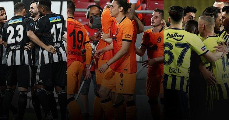 Zirve yarışı ve kümede kalma mücadelesi kızıştı! İşte güncel Süper Lig puan durumu