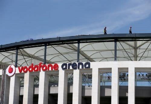 Vodafone Arena'da dev coşku