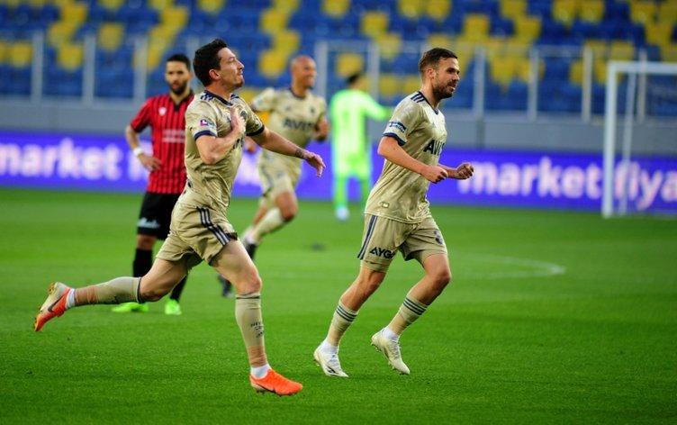 Fenerbahçeli Mert Hakan Yandaş Gençlerbirliği'ne golünü attı ve o isme koştu!