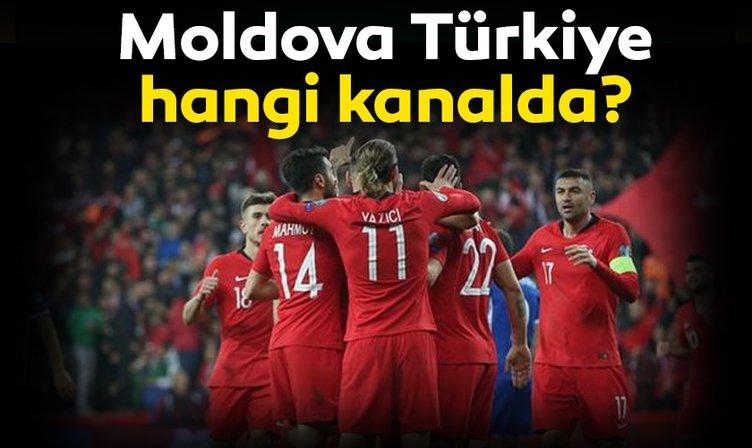 Moldova Türkiye maçı canlı izle: Moldova Türkiye milli maç hangi kanalda canlı yayınlanacak? TRT 1 canlı yayın izle