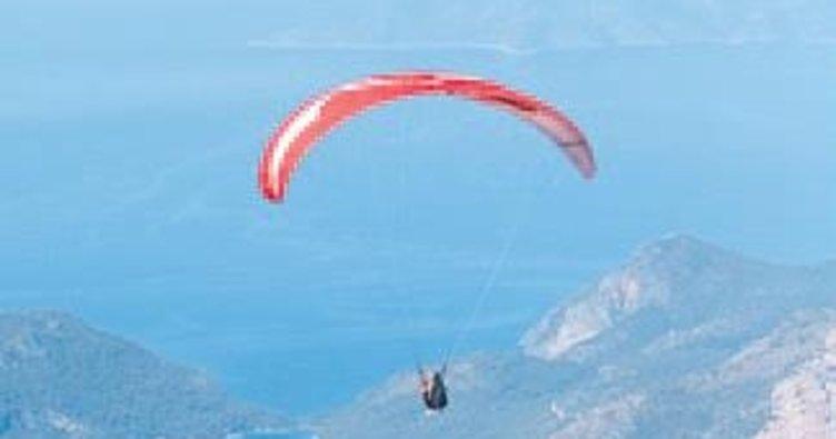 Babadağ'da güvenli uçuş