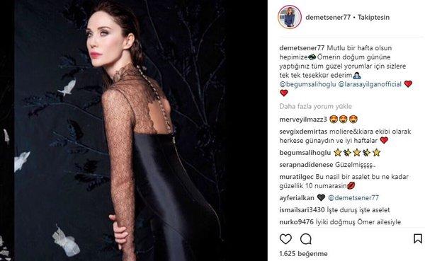 Ünlü isimlerin Instagram paylaşımları (26.03.2018)