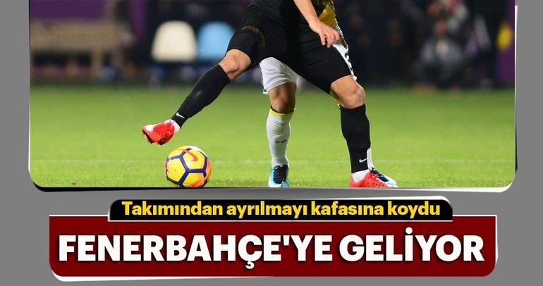Ayrılmayı kafasına koydu, Fenerbahçe'ye geliyor