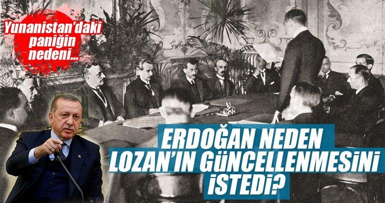 Erdoğan neden Lozan'ın güncellenmesini istedi?