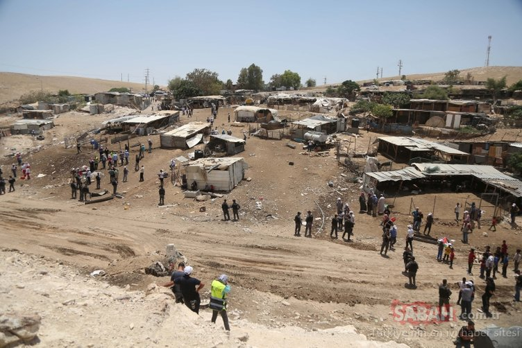 İşte İsrail'in Filistin topraklarındaki Bedevi planı