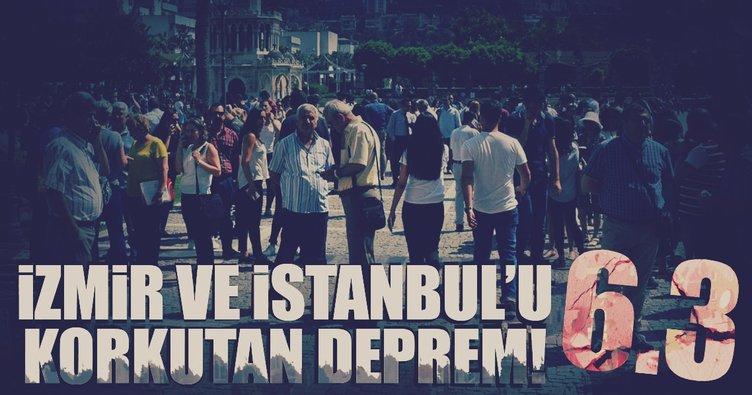 #Flaş! Ege'de deprem! İstanbul'da da hissedildi