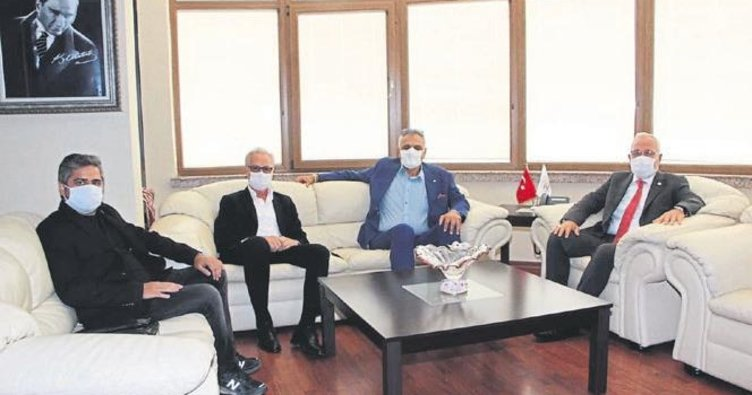 ATSO ve İTSO başkanları Tosyalı'yı ziyaret etti