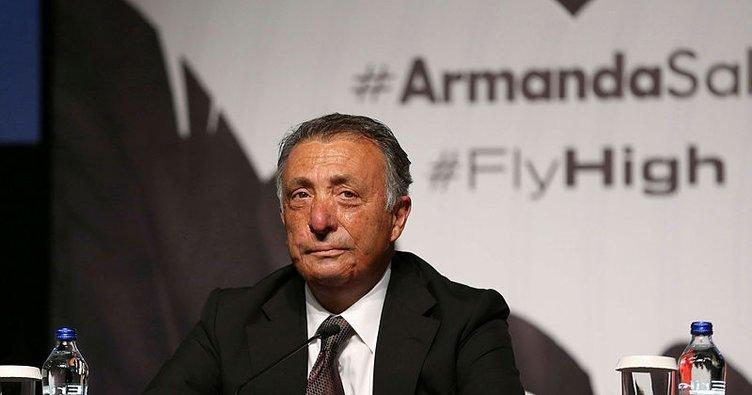 Beşiktaş Başkanı Ahmet Nur Çebi Bırakmam Seni kampanyasını başlattı!