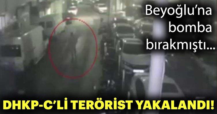 Beyoğlu'nda bir otoparka bombalı saldırı düzenleyen DHKP-C'li terörist yakalandı