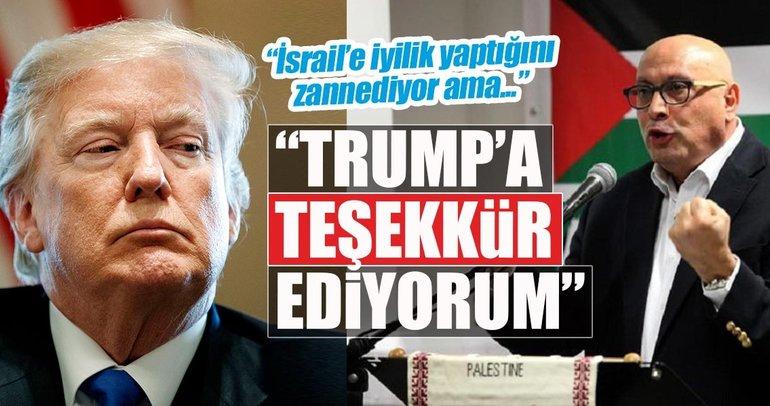 Kudüs'ü yeniden dünyanın gündemine getirdiği için...