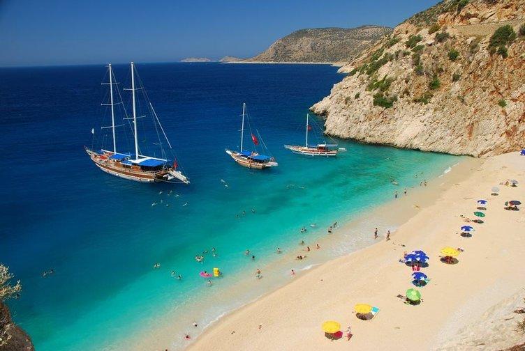 Türkiye'nin dünya güzeli plajları