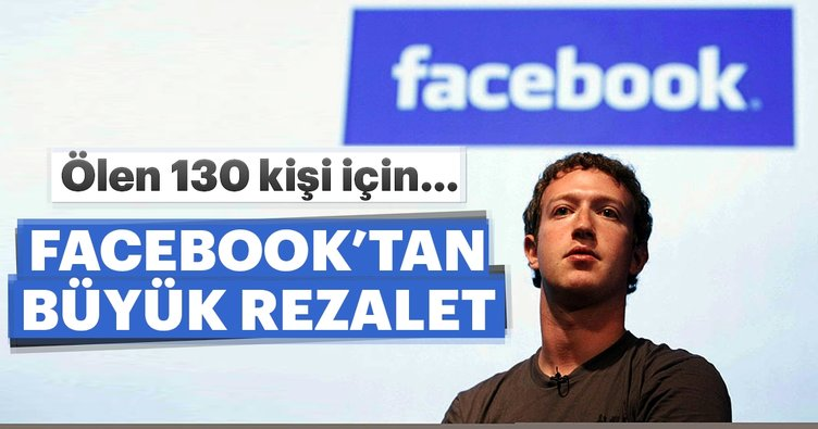 Facebook'tan büyük rezalet