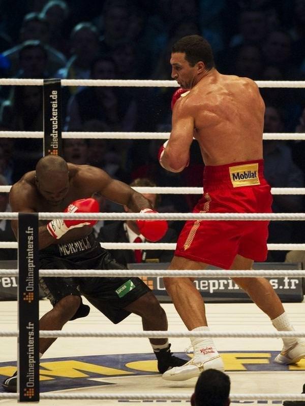 Klitschko, Mormeck'i nakavtla yendi