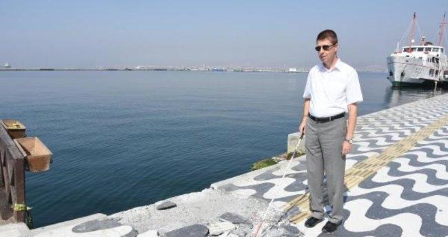 İzmir'de görme engellilerin hayatı tehlikede