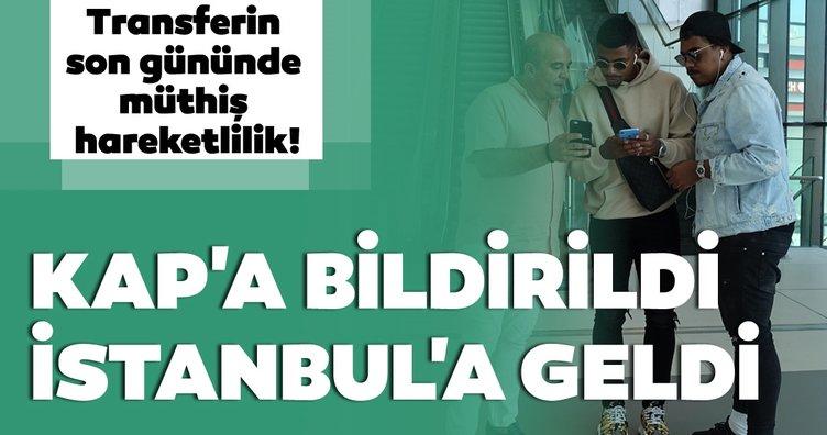 Galatasaray'ın yeni transferi Lemina İstanbul'a geldi