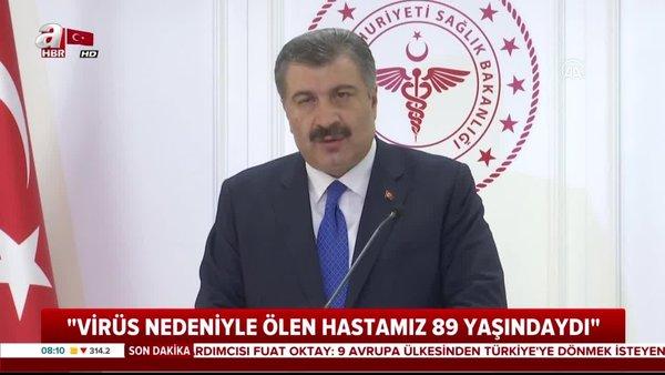 Türkiye'deki yeni corona virüsü vakası son sayısı (18 Mart 2020 Çarşamba) açıklandı   Video