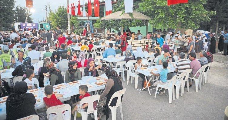 Batı Akdeniz'de ilk iftar