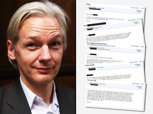 Bay Wikileaks'in aşk mektupları...
