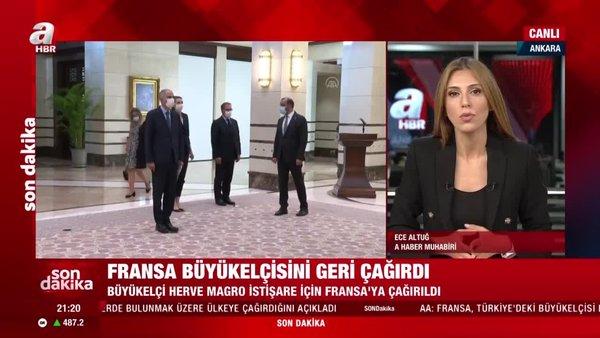 Son dakika! Fransa, Türkiye'deki Büyükelçisi Herve Magro'yu ülkeye çağırdı   Video