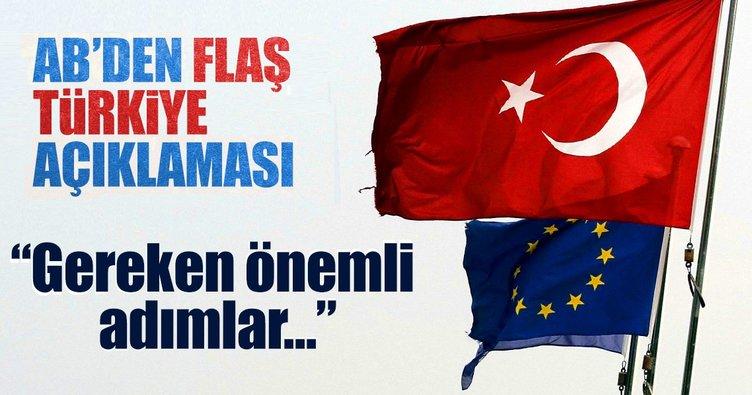 AB: Türkiye ile işbirliği devam etmeli