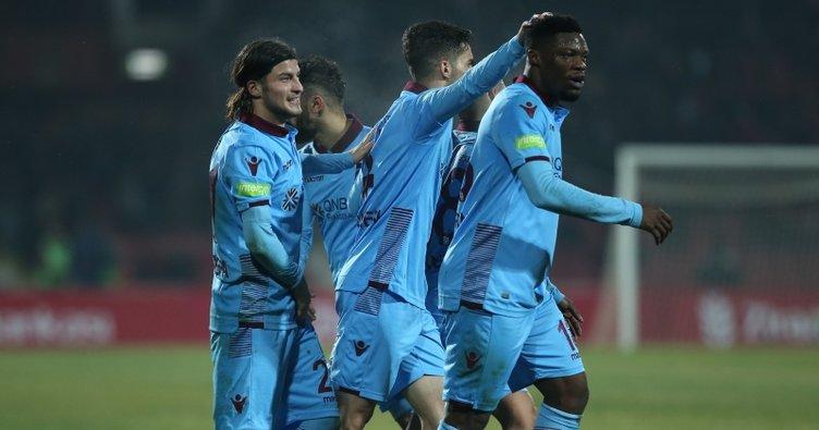 Trabzonspor, Balıkesir'de zorlanmadan turladı