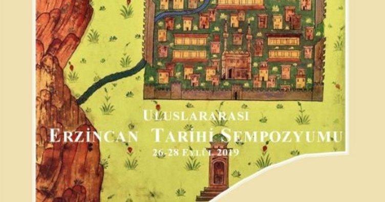 Erzincan'da Uluslararası Erzincan Tarihi Sempozyumu düzenlenecek!