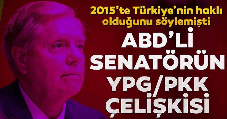 ABD'li Senatör Graham'ın YPG/PKK çelişkisi