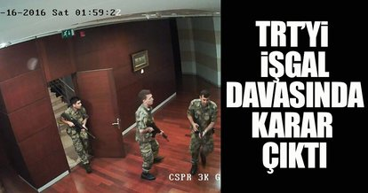 TRT'nin işgal davasında ceza yağdı