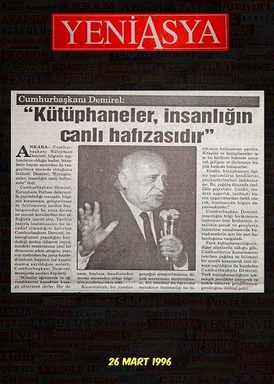 İlk günden bugüne Türk Basınında Kütüphane Haftası