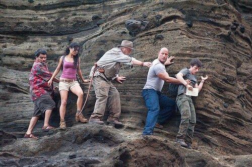 Gizemli Adaya Yolculuk filminden kareler