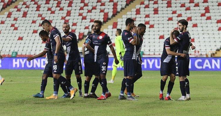 Antalyaspor 2-0 Gençlerbirliği   MAÇ SONUCU