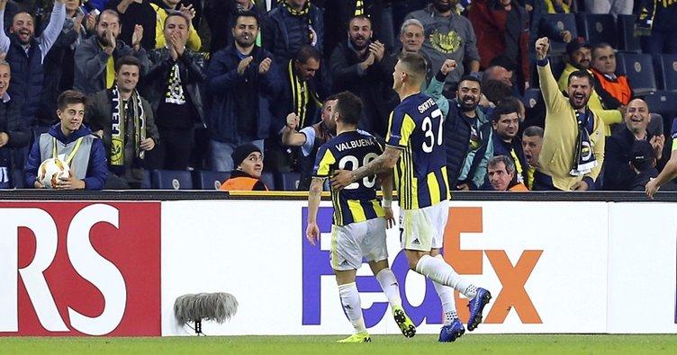 Fenerbahçe, Avrupa'da coştu