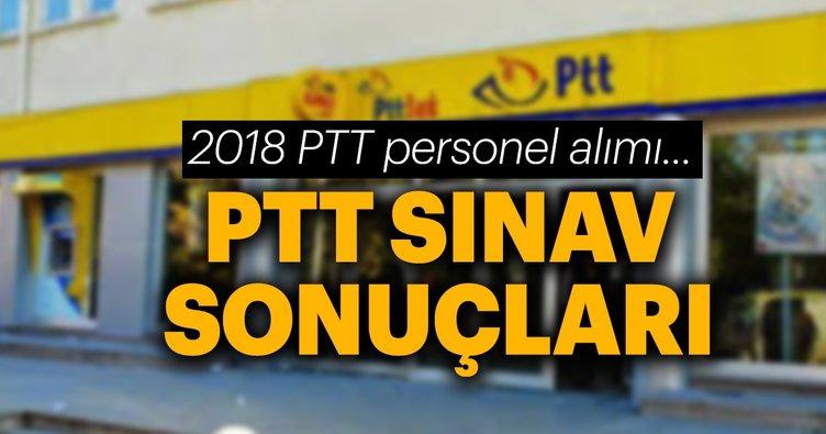 PTT personel alımı sonuçları ne zaman açıklanacak? - 2018/1 PTT yazılı sınav soruları ve cevapları yayımlandı