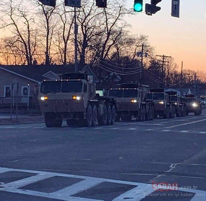 Son dakika... ABD'de ölü sayısı 797, ordu sokakta birçok eyalette sokağa çıkmak yasak