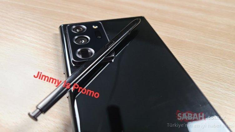 Samsung Galaxy Note 20 ortaya çıktı! Bakın nasıl görünüyor...