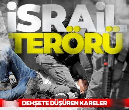 Mescid-i Aksa'da İsrail terörü! Yüzlerce Filistinli yaralı ortalık savaş alanına döndü