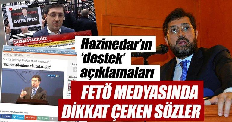 Murat Hazinedar'dan FETÖ medyasında dikkat çeken sözler