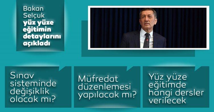 Son dakika: Sınav sistemi değişecek mi? Milli Eğitim Bakanı Ziya Selçuk açıkladı