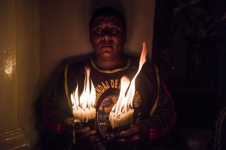 Peru'daki Tutsak Hz. İsa Kilisesi'ne hac ziyareti