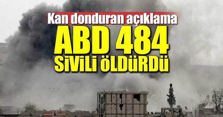 ABD 484 sivili öldürdü