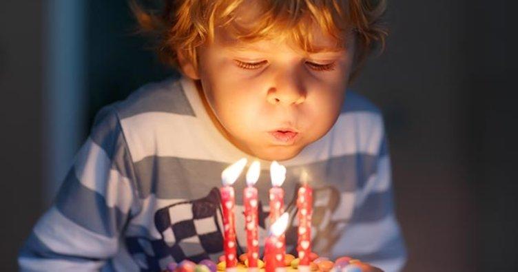 Sakın doğum günü pastanızı üflemeyin