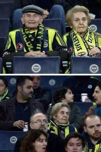 Fenerbahçeli Mümtaz Amca'nın koltuğu boş kaldı