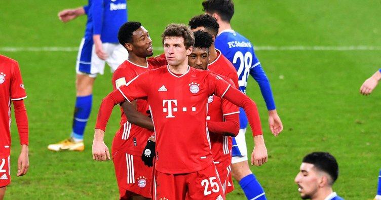 Bayern Münih, deplasmanda Schalke 04'ü 4 golle geçti