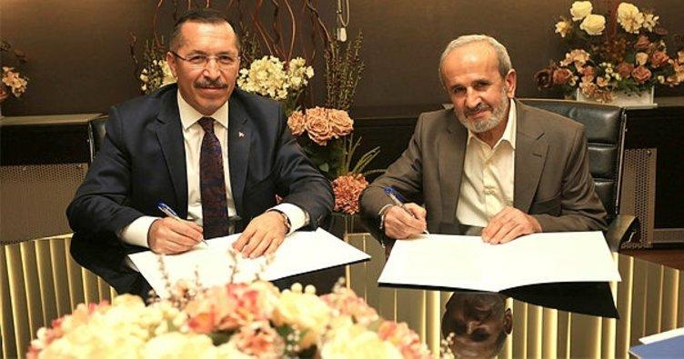 """PAÜ'de """"Eğitimde İşbirliği Protokolü"""" imzalandı"""