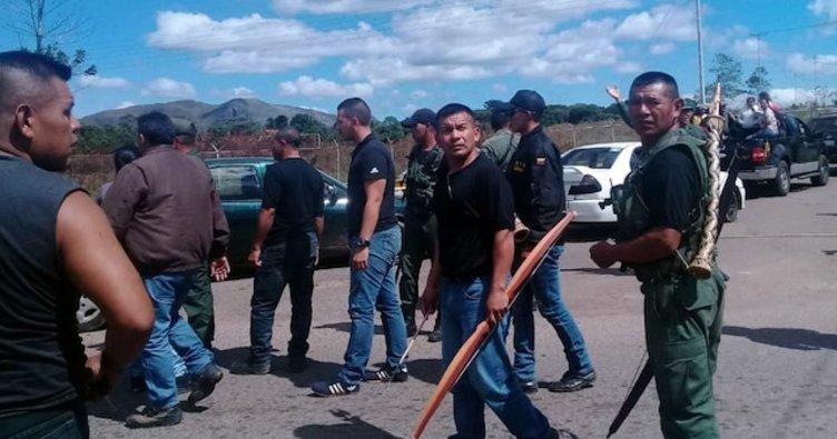 Venezuela Brezilya sınırında askeri varlığını arttırdı