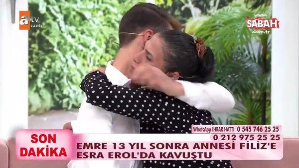 Kanser hastası 5 yaşındaki oğlunu hastane kapısında terk eden anneyi Esra Erol buldu | Video