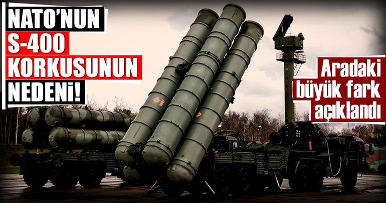İşte NATO'nun S-400 korkusunun nedeni